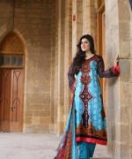 Yashfeen Lawn Summer Dresses 2014 For Women 006