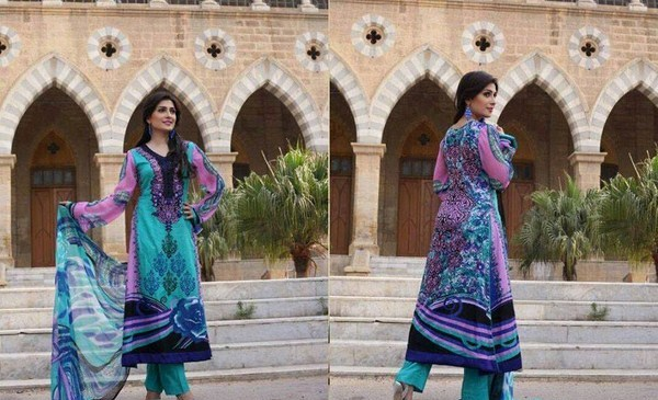 Yashfeen Lawn Summer Dresses 2014 For Women