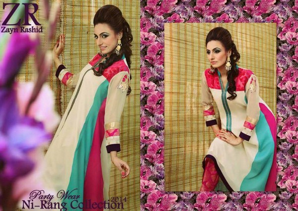 Zayn Rashid Spring Dresses 2014 For Women 002