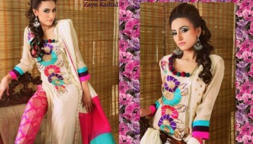 Zayn Rashid Spring Dresses 2014 For Women 005