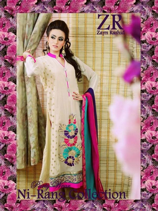 Zayn Rashid Spring Dresses 2014 For Women