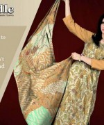 Ajwa Textiles Summer Dresses 2014 For Women 001