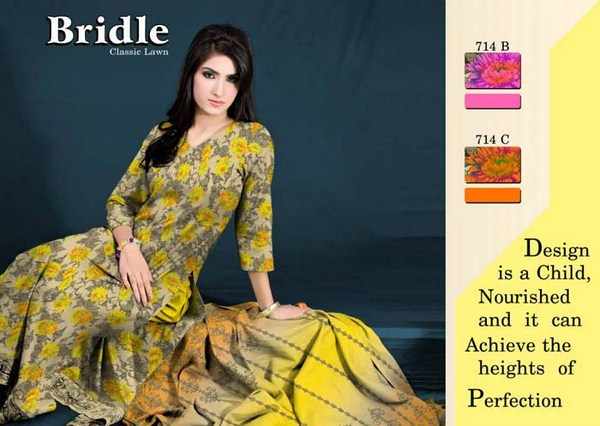 Ajwa Textiles Summer Dresses 2014 For Women 0010