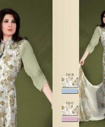 Ajwa Textiles Summer Dresses 2014 For Women 0014