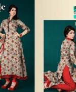 Ajwa Textiles Summer Dresses 2014 For Women 002