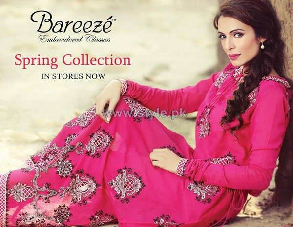 Bareeze Spring Summer Dresses 2014 For Women 4