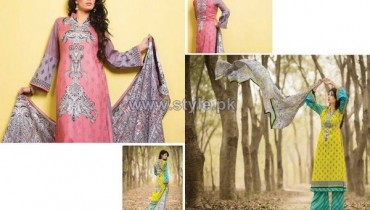 Batik Lawn Dresses 2014 For Summer 12