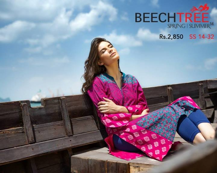 Beech Tree Spring Summer Dresses 2014 for Women