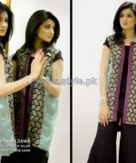 Fatima Zuhaib Summer Dresses 2014 For Women 5