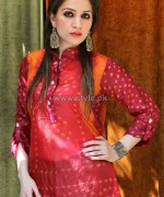 Ferozeh Silk Chunri Dresses 2014 For Summer 3