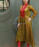 Ferozeh Silk Chunri Dresses 2014 For Women 4