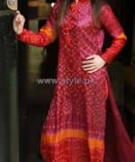 Ferozeh Silk Chunri Dresses 2014 For Women 5