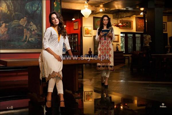 Firdous Fashion Lawn Dresses 2014 For Women 10