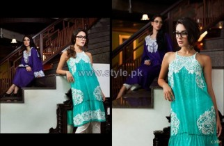 Firdous Fashion Lawn Dresses 2014 For Women 12