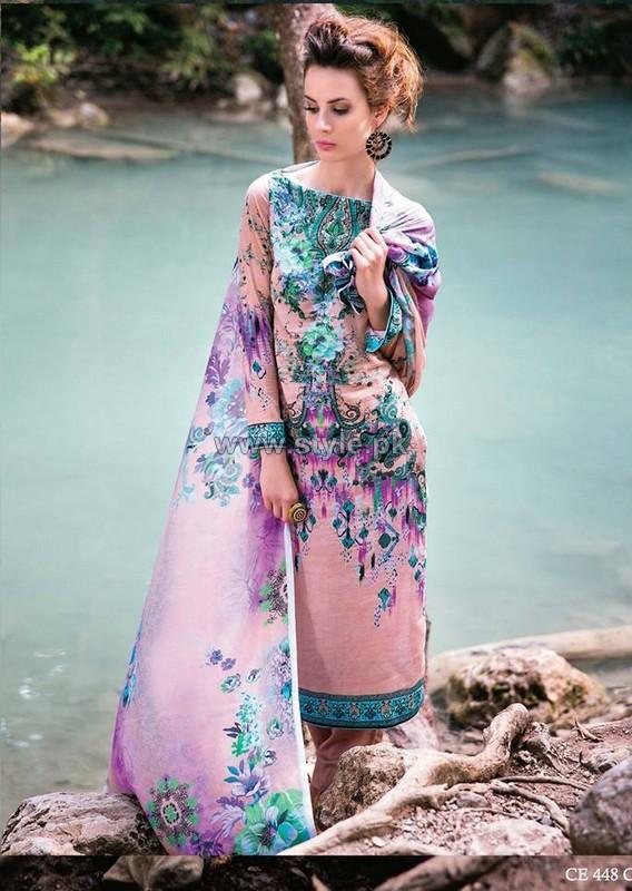 Five Star Classic Lawn Dresses 2014 Volume 2 9