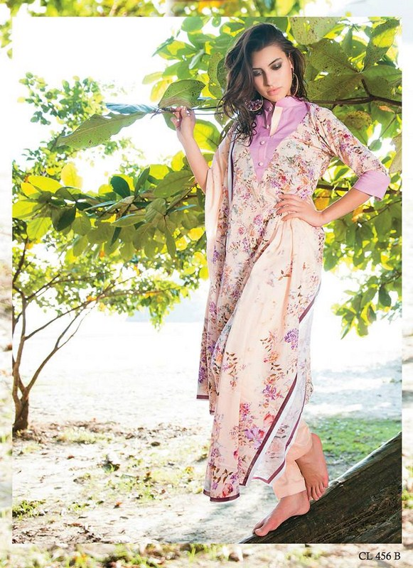 Five Star Textile Lawn Dresses 2014 Volume 3 For Women 007