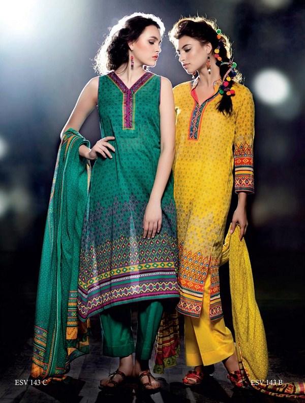 Five Star Textiles Summer Dresses 2014 For Women 003
