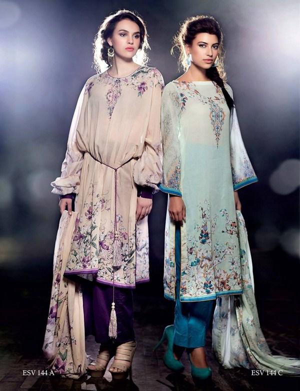 Five Star Textiles Summer Dresses 2014 For Women 004