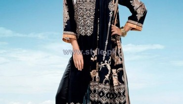 Five star Textile Black and White Dresses 2014 For Women 3