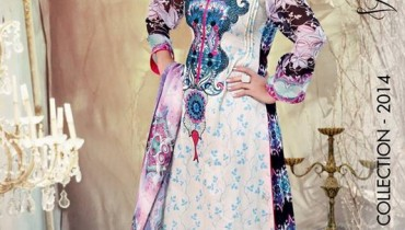 Ghani Textile Lawn Dresses 2014 Volume 1 For Women 003