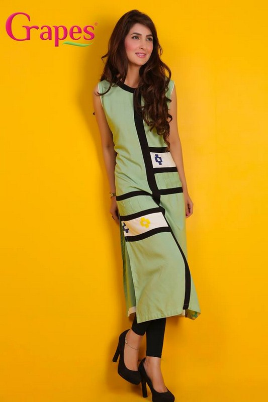 Grapes The Brand Summer Dresses 2014 For Women 007