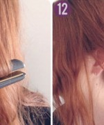 How to make side braid bun hairstyle 6
