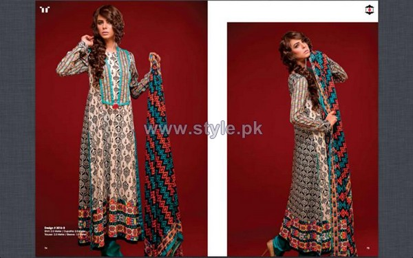 Ittehad German Lawn Dresses 2014 For Women 7