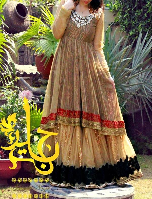 Jannat Nazir Spring Dresses 2014 For Women 002