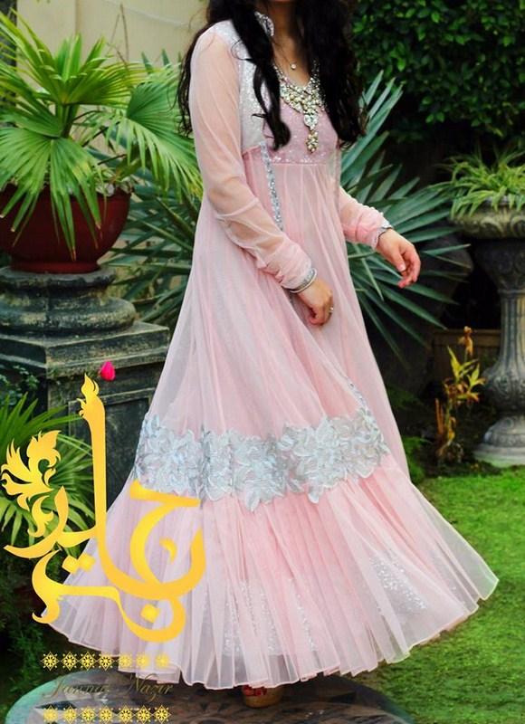 Jannat Nazir Spring Dresses 2014 For Women