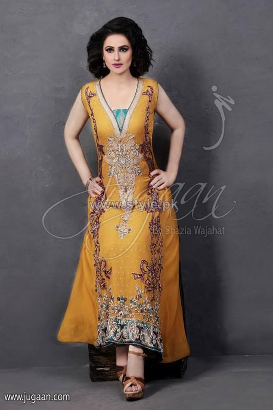Jugaan Formal Wear Dresses 2014 For Women 4