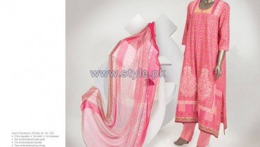 Junaid Jamshed Lawn Dresses 2014 For Girls 2