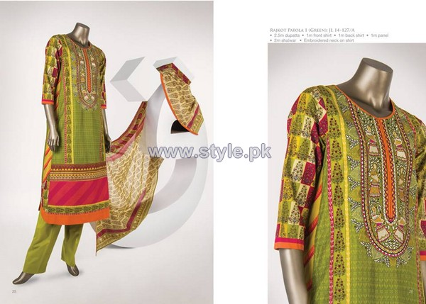Junaid Jamshed Lawn Dresses 2014 For Women 11