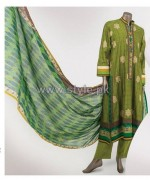 Junaid Jamshed Lawn Dresses 2014 For Women 13