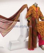 Junaid Jamshed Lawn Dresses 2014 For Women 9