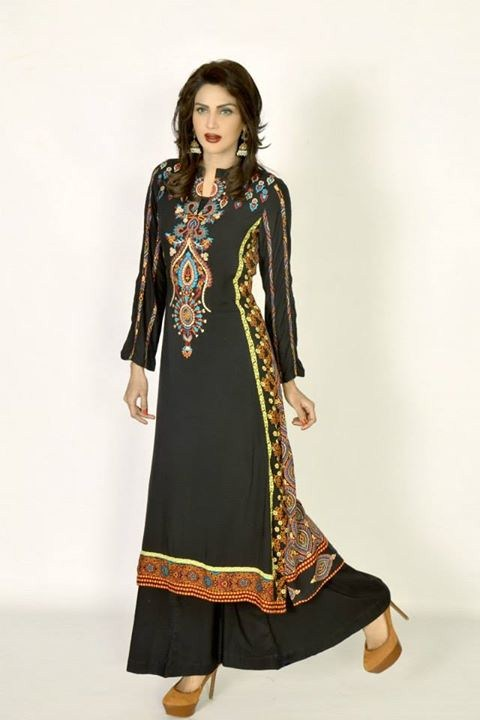 Khanumz Summer Dresses 2014 For Women 0010