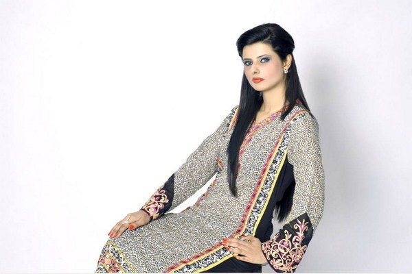 Khanumz Summer Dresses 2014 For Women 004