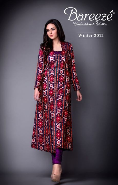 Latest Fashion Of Ajrak Dresses For Women010