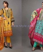 Latest Riwaj Collection 2014 Volume 1 by Shariq Textiles 2