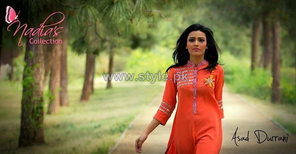 Nadias Collection Casual Dresses 2014 For Summer 4 pakistani dresses dress designs