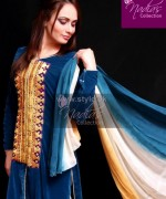Nadias Collection Casual Dresses 2014 For Women 12 150x180 pakistani dresses dress designs