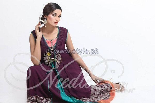 Needlez by Shalimar Summer Dresses 2014 For Girls 2