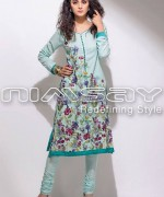 Nimsay Embroidered Classic Dresses 2014 For Summer 1