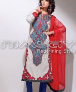 Nimsay Embroidered Classic Dresses 2014 For Summer 3