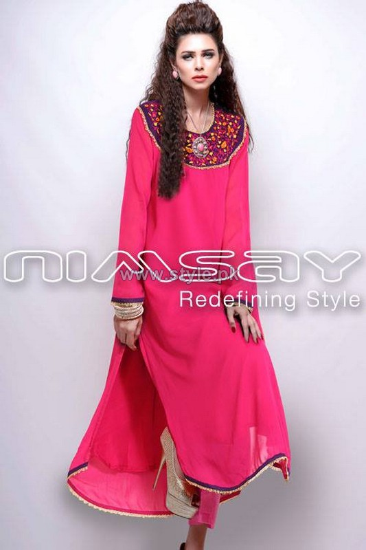 Nimsay Verve Ready To Wear Dresses 2014 For Women 8