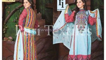 Puri Textiles Lawn Dresses 2014 For Women 10