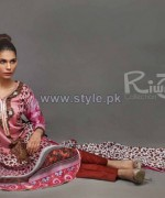 Riwaj Collection 2014 Volume 1 by Shariq Textiles 13