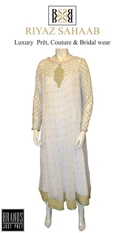 Riyaz Sahaab Spring Dresses 2014 For Women 003