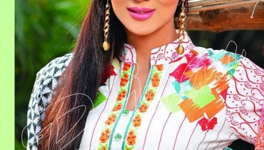 Rujhan Fabric Spring Dresses 2014 Volume 2 For Women 009