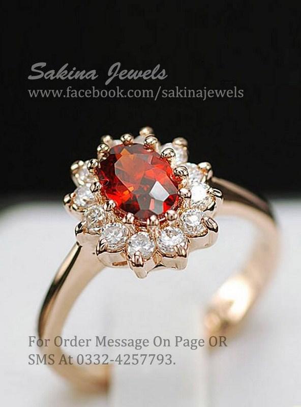Sakina Jewelery Rings Designs 2014 For Women 008