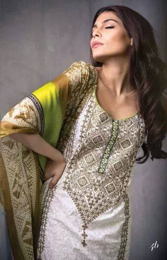 Sana Safinaz Lawn Collection 2014